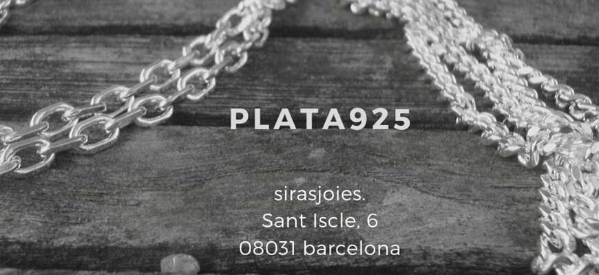 cadenas en plata 925 a sirasjoies