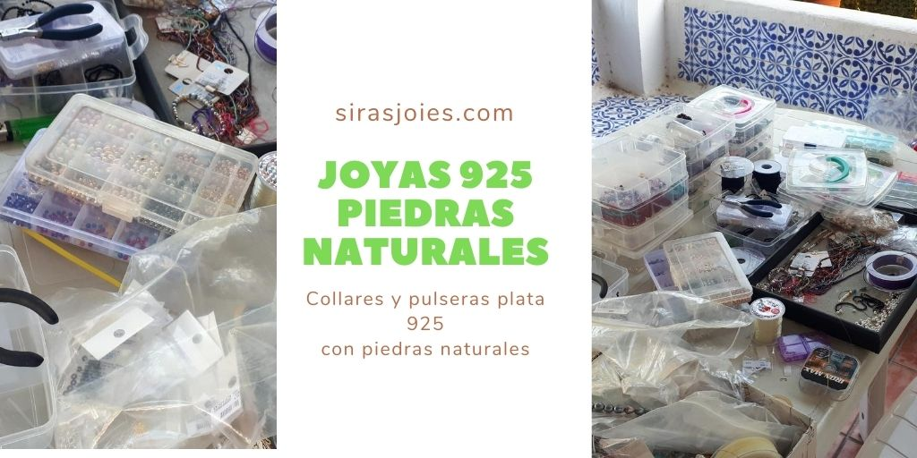 Joyas 925 piedras naturales